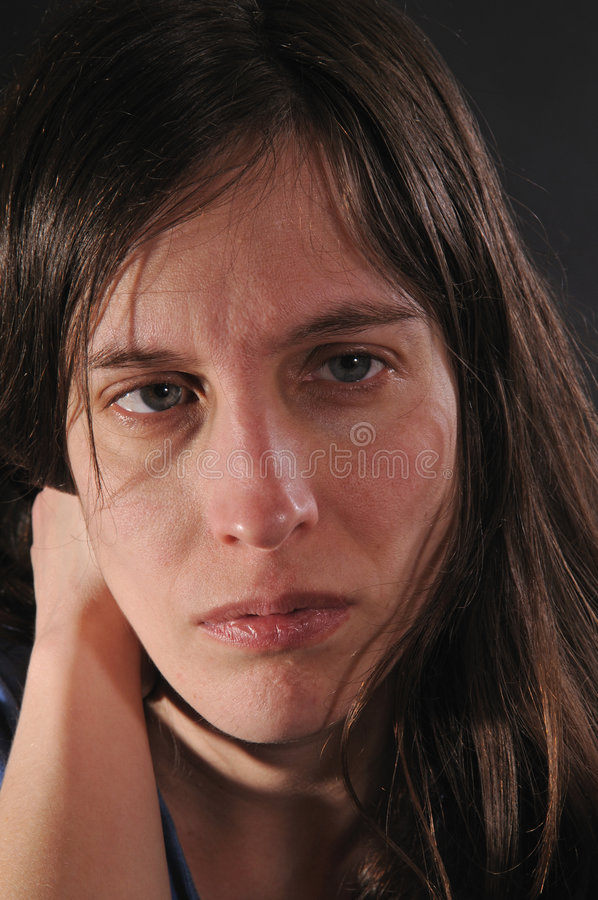 Download Woman In Despair Royalty Free Stock Photography - Image: 4094247