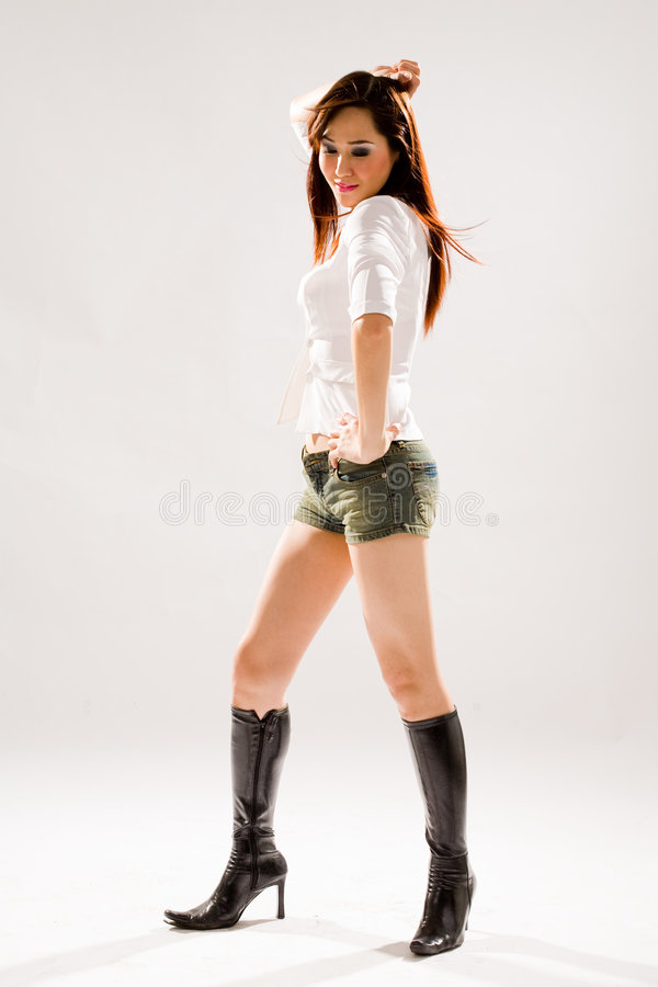 Download Woman disco dancing stock photo. Image of complexion, divine - 4516718