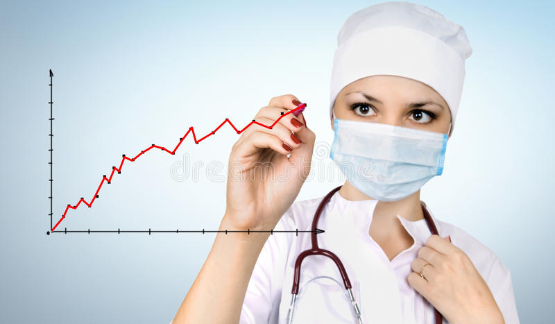 Woman doctor stock photo