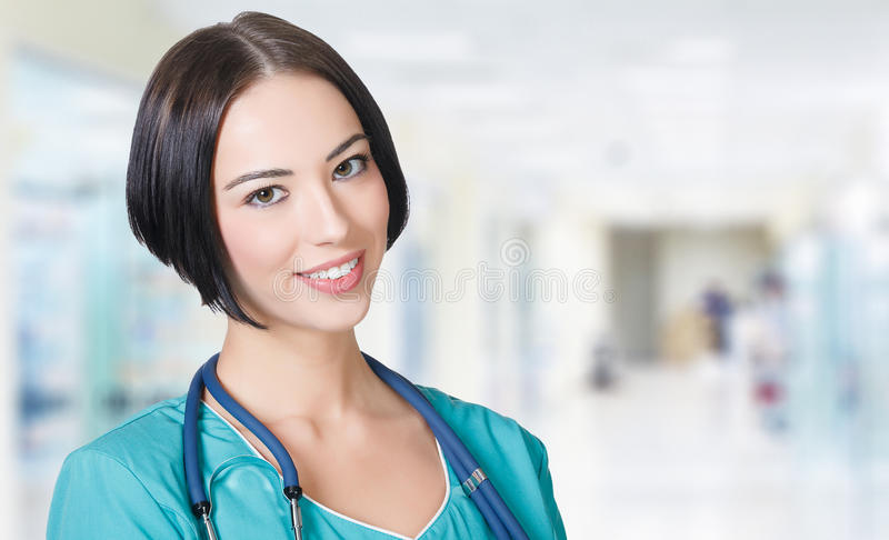 Woman doctor royalty free stock image