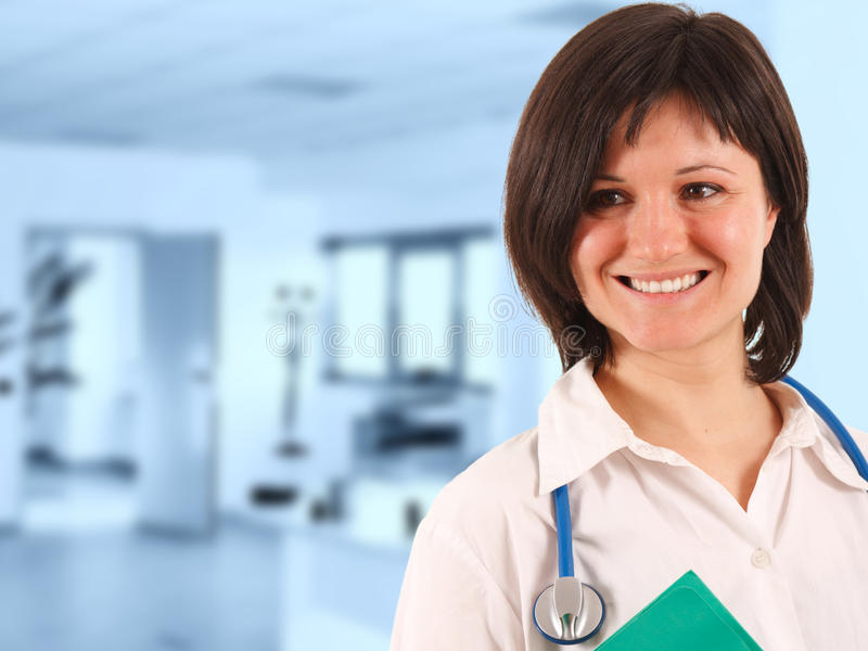 Woman Doctor Smiling Royalty Free Stock Photo