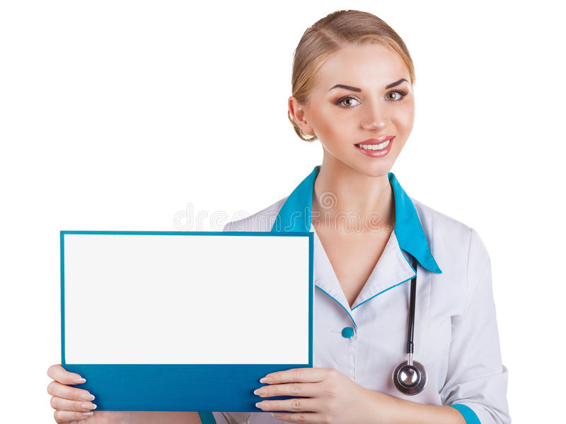 Woman doctor royalty free stock photos
