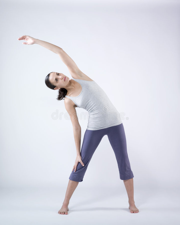 Download Woman doing exercises stock photo. Image of healthcare - 7673040