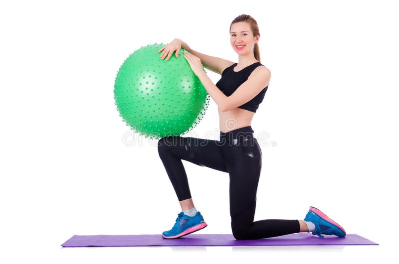 Download Woman Doing Exercises Stock Photo - Image: 29917130