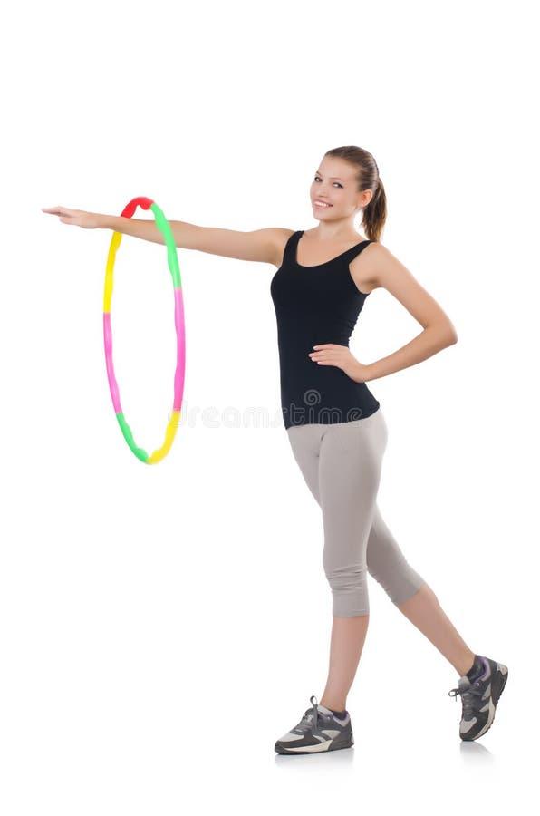 Download Woman doing exercises stock photo. Image of aerobics - 34468884