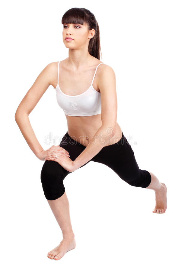 Download Woman Doing Fitness Exercises Stock Photo - Image: 22215746