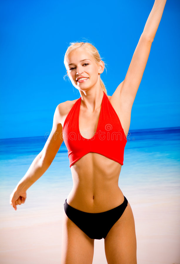 Download Woman Doing Fitness Exercises Stock Photo - Image: 2695332