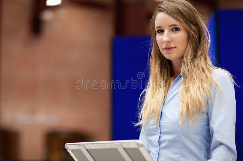 Woman doing a presentation