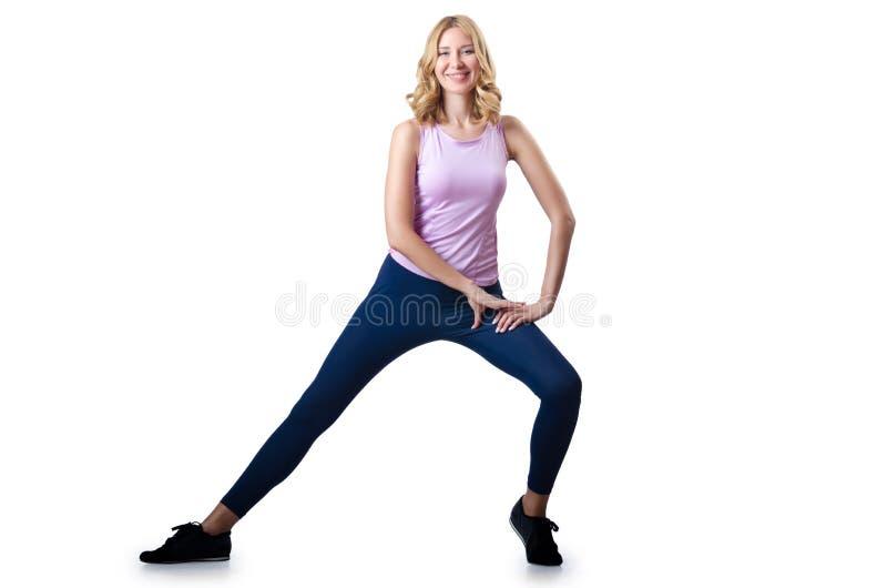 Woman Doing Sports Stock Photos