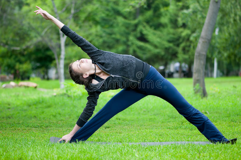 Download Woman Doing Stretching Exercise. Yoga Stock Images - Image: 16878474