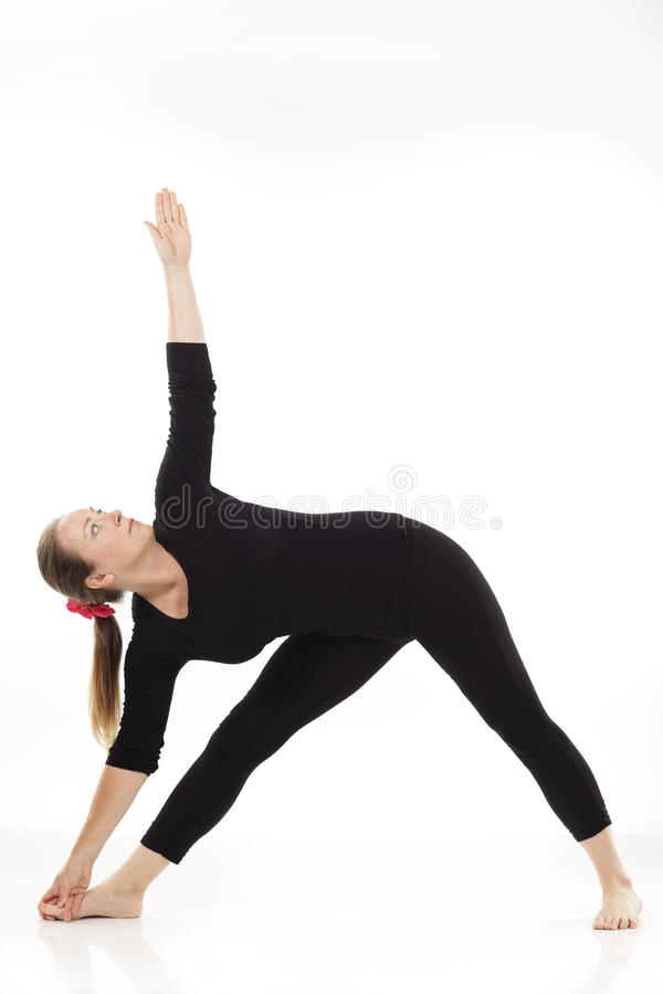 Download Woman doing yoga exercise stock photo. Image of serene - 11048380