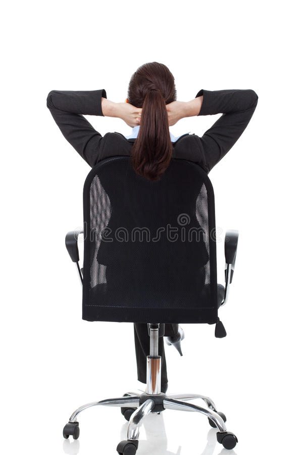 Download Woman Dreaming On Chair Royalty Free Stock Images - Image: 27075839