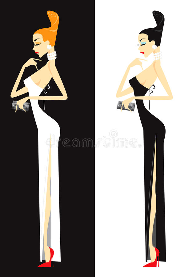 Woman In Dress Royalty Free Stock Photo