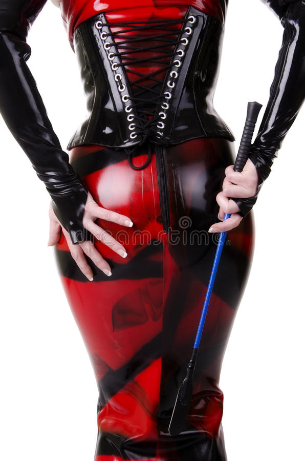 Download Woman Dressed In Dominatrix Clothes Stock Image - Image of background, girl: 32991541