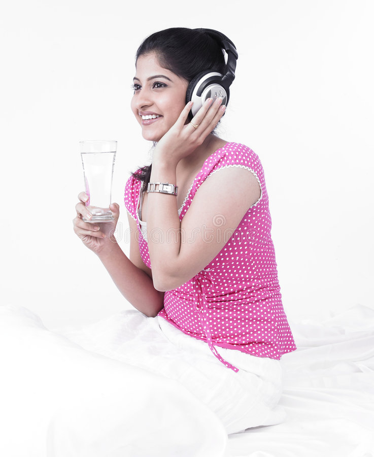 Download Woman Drinking A Glass Of Water Royalty Free Stock Photo - Image: 7387615