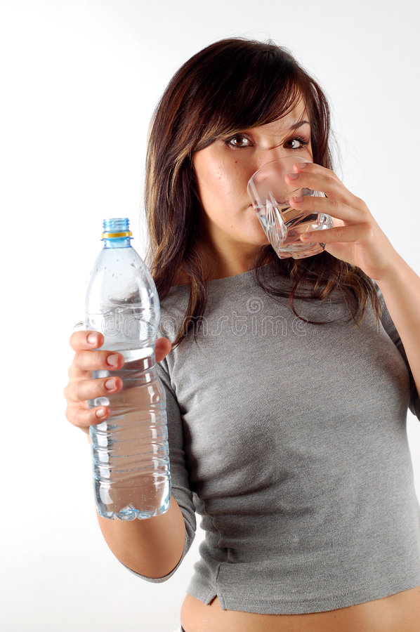 Free Woman Drinking Water 6 Stock Images - 2994854