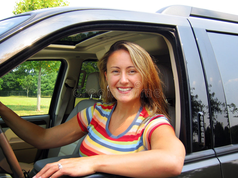 Woman Driver stock photos