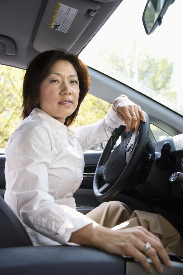 Download Woman Driver Royalty Free Stock Photos - Image: 4997198