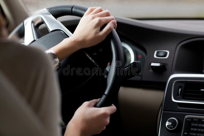 Download Woman Driving A Car Royalty Free Stock Images - Image: 24610599