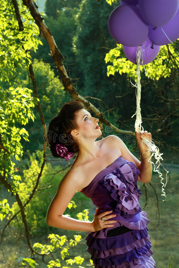 Download Woman Eating Grapes Outdoors In The Park Stock Image - Image: 26464433