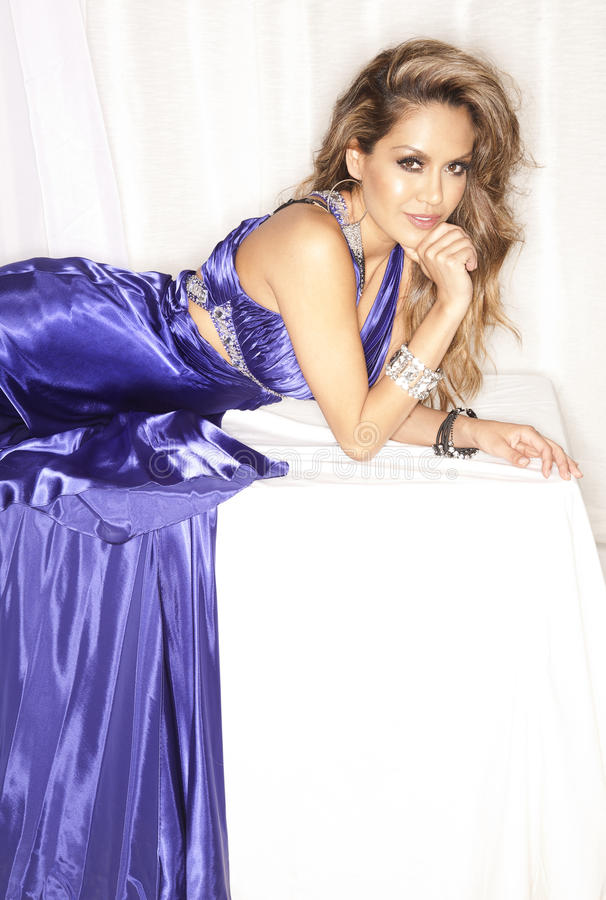 Download Woman In Evening Dress Royalty Free Stock Photos - Image: 24222478