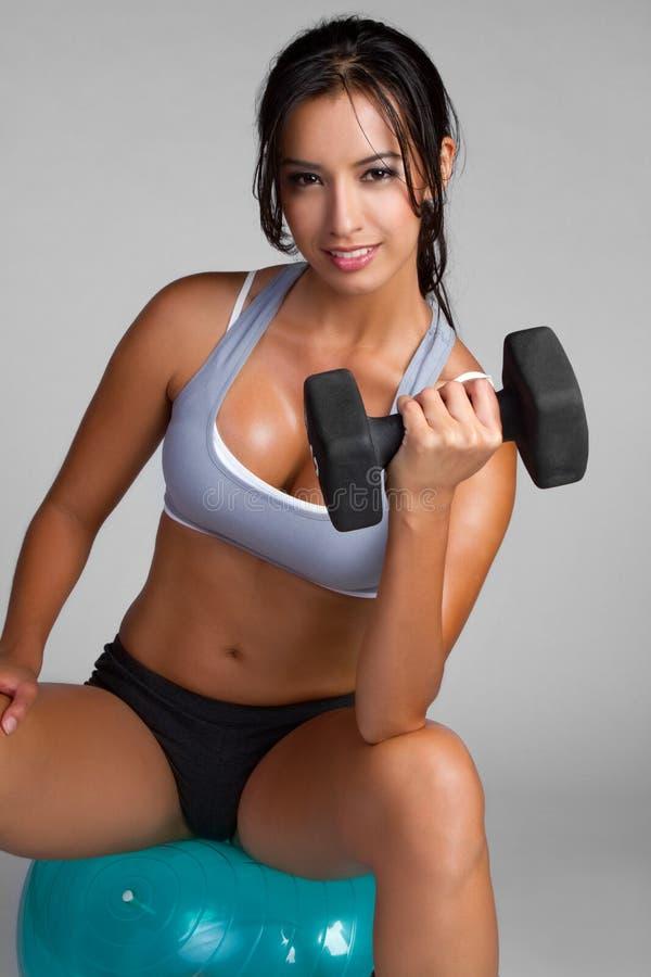 Free Woman Exercising Stock Image - 15989731