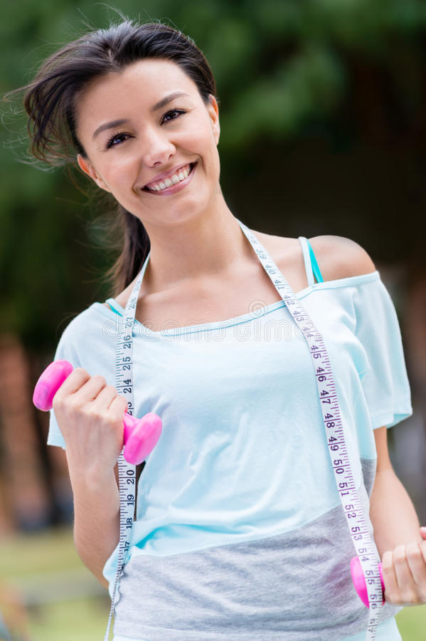 Download Woman Exercising To Lose Weight Stock Photo - Image: 33598218
