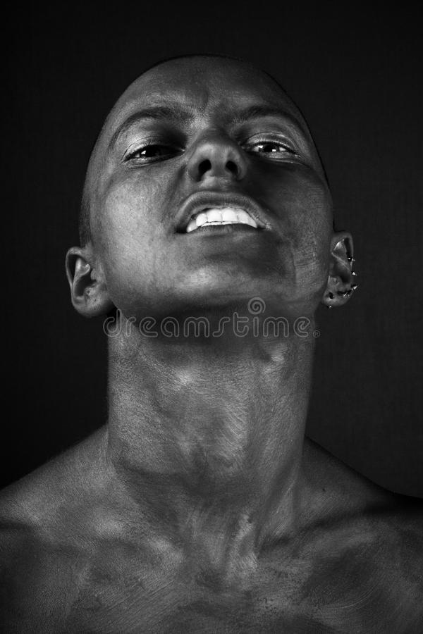 Woman expression. royalty free stock photos