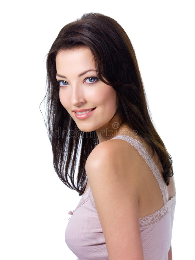 Woman With Expressive Look And Charmiing Smile Royalty Free Stock Image