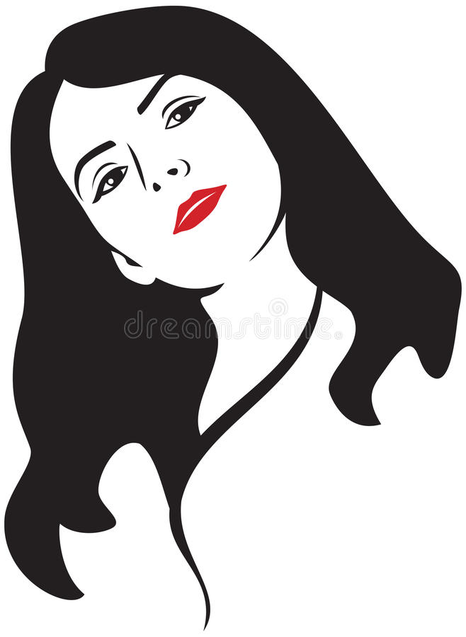 Download Woman face stock vector. Illustration of make, female - 26076007