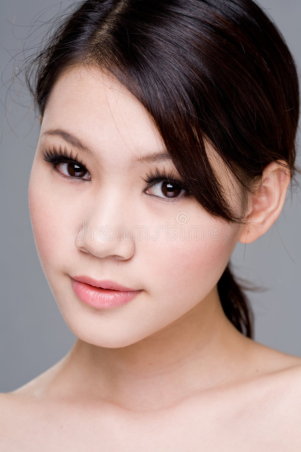 Download Woman face stock photo. Image of posing, expression, cute - 4306134