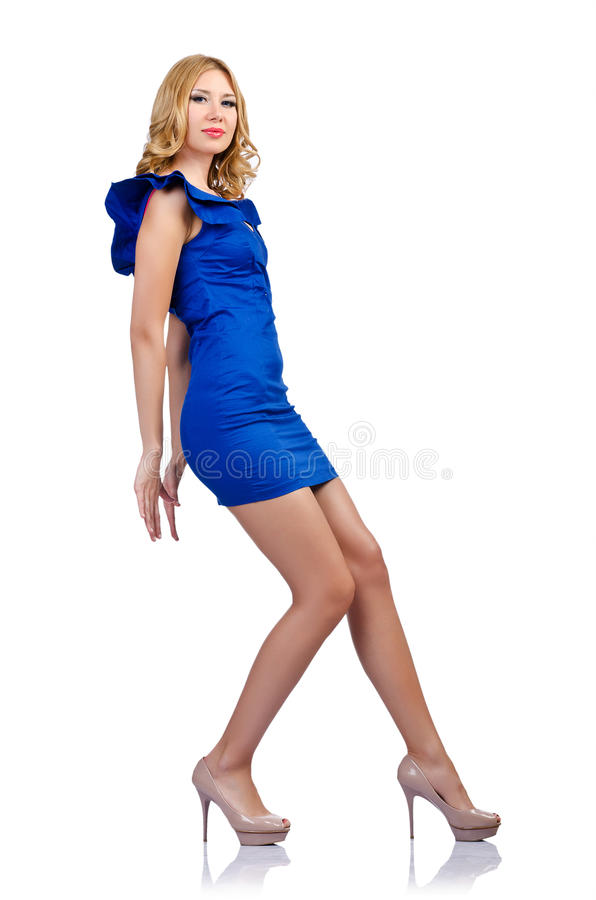 Woman In Fashion Clothing Royalty Free Stock Photos