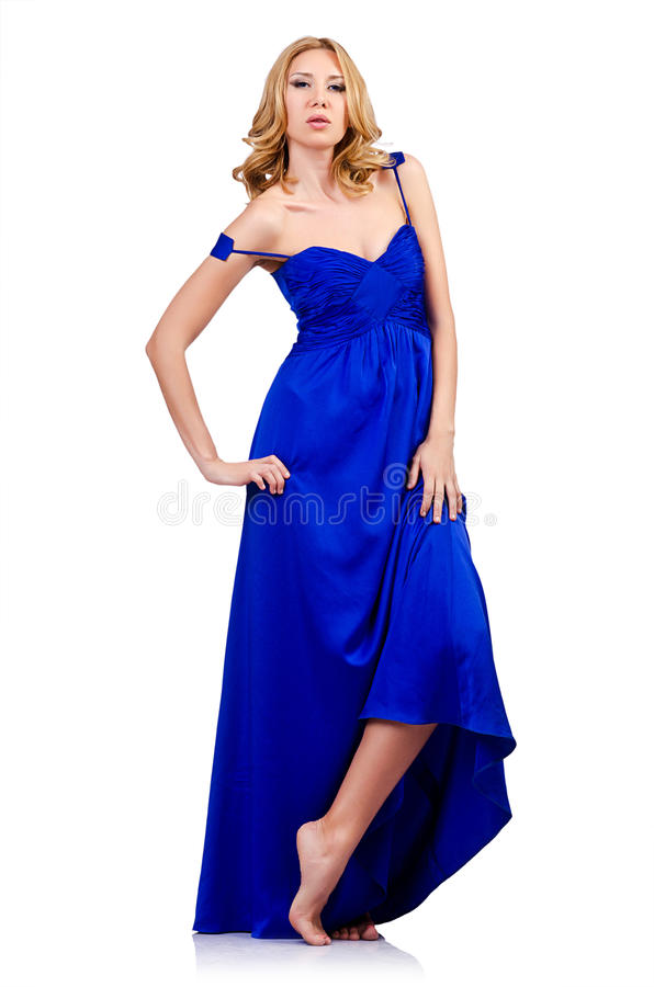 Woman In Fashion Clothing Stock Photography