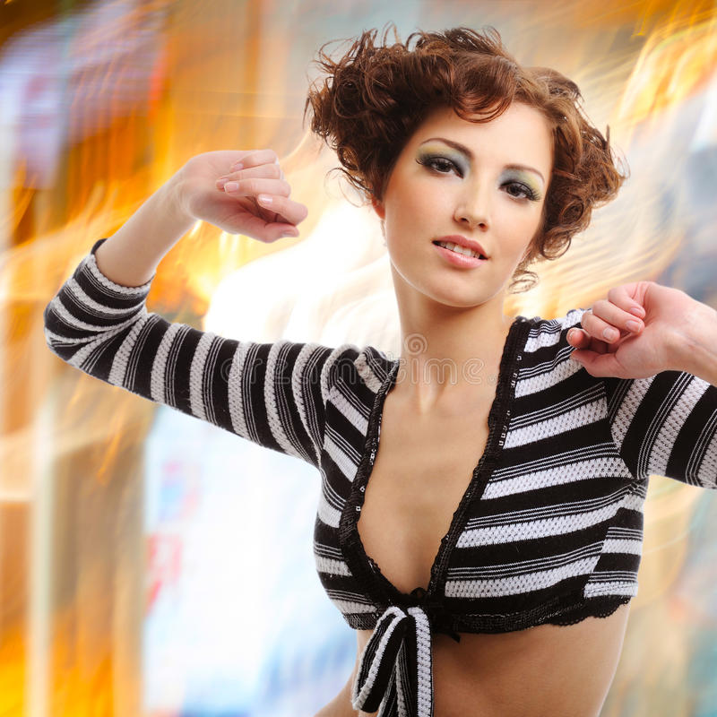 Download Woman With Fashion Hairstyle Stock Image - Image: 33152989