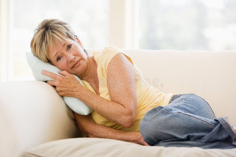 Download Woman Feeling Unwell stock photo. Image of sixties, problems - 7774188
