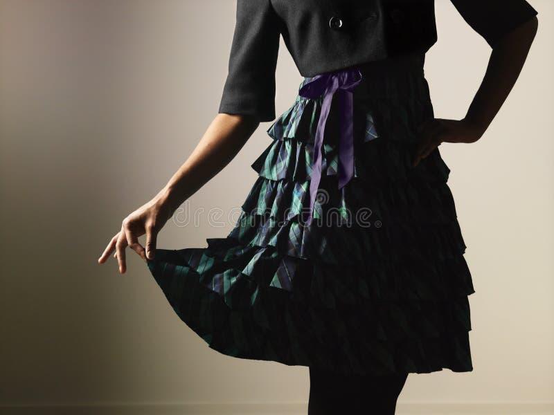 Woman feminine dress royalty free stock photo