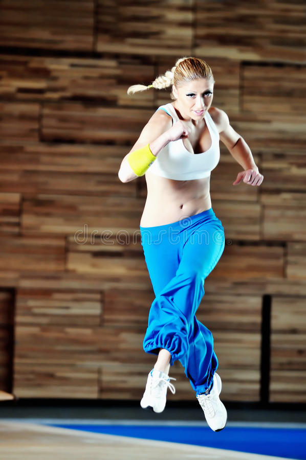 Download Woman fitness stock image. Image of indoors, leisure - 11673121