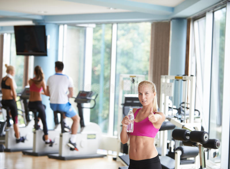 Woman in fitness gym drink water stock image image 61106025 download woman in fitness gym drink water stock image image 61106025 sciox Gallery