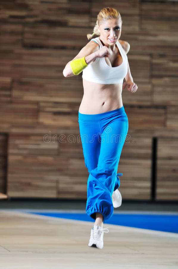 Download Woman fitness one stock image. Image of caucasian, beautiful - 11989053