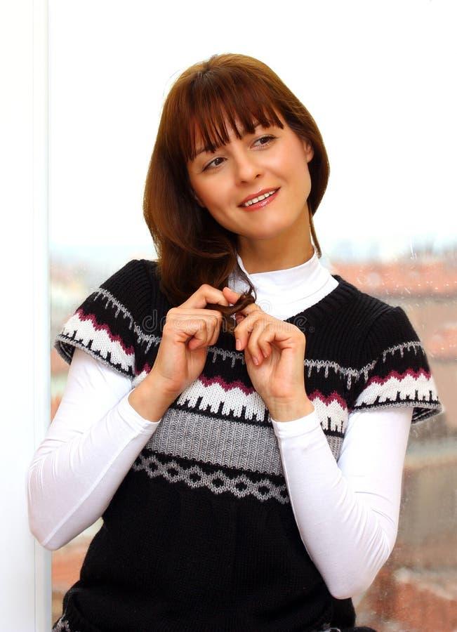 Download Woman flirting stock photo. Image of glamour, flirting - 22863920