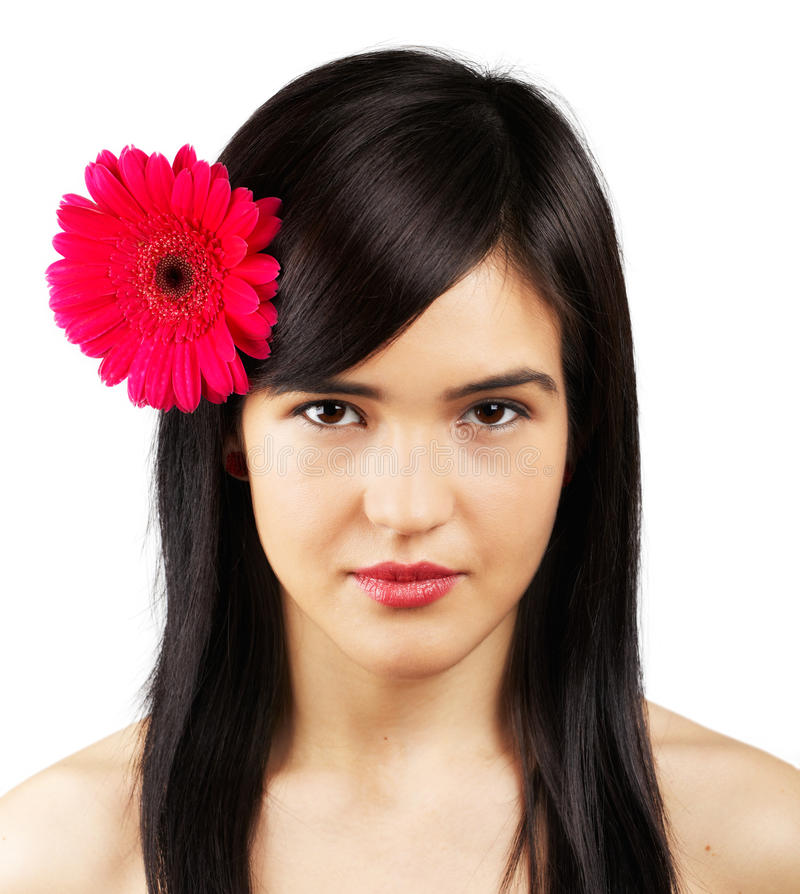 Download Woman with flower stock image. Image of model, modern - 29334063