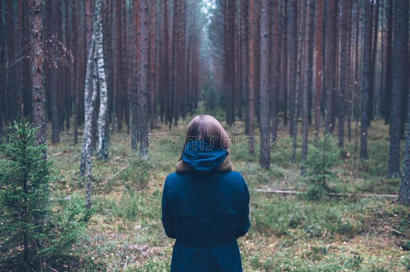Woman In Forest Free Public Domain Cc0 Image