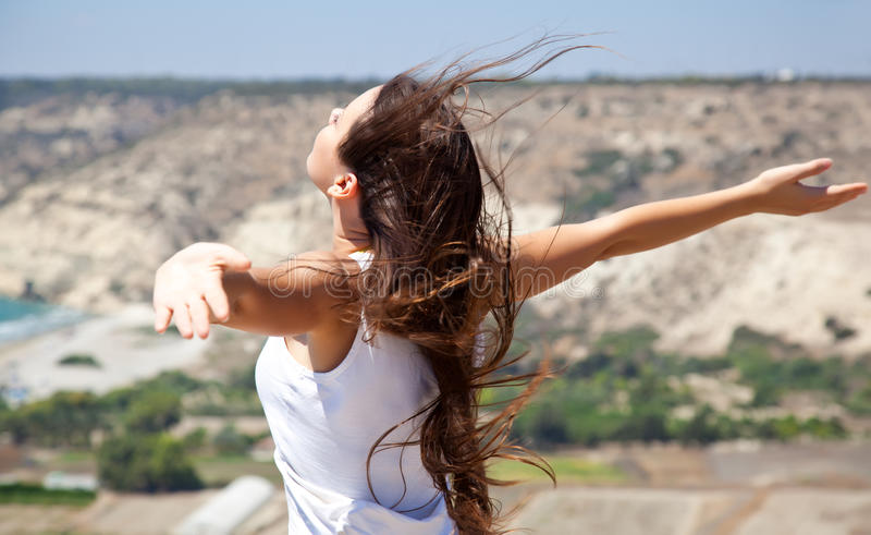Download Woman And Freedom Royalty Free Stock Photo - Image: 22800685