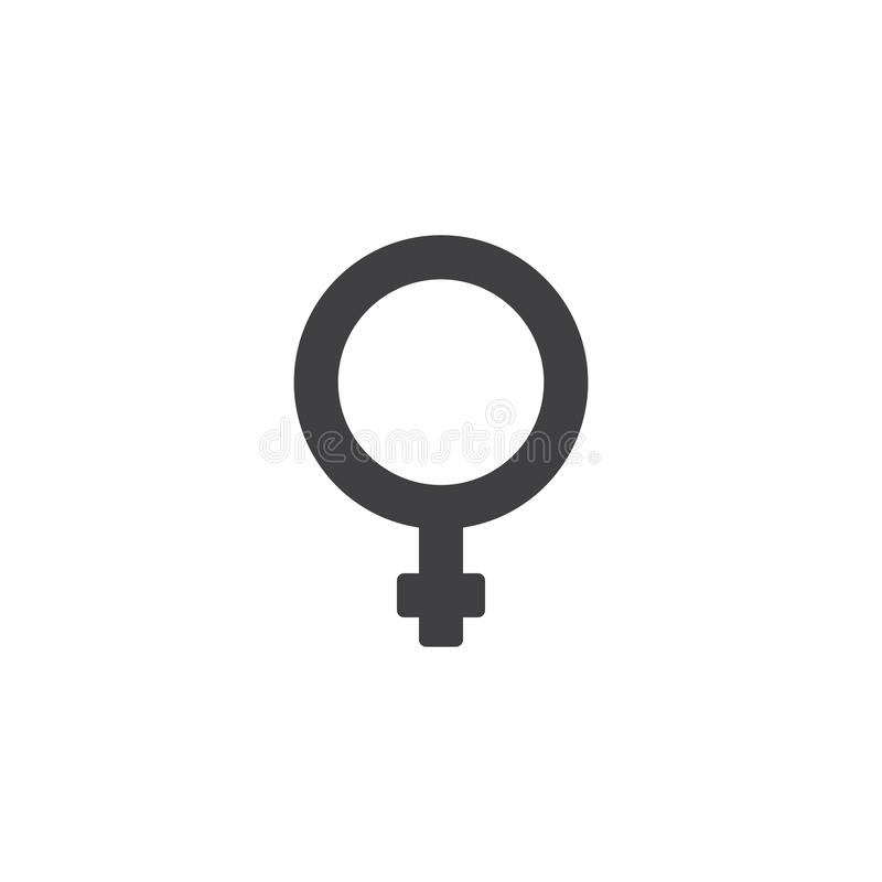 Woman gender vector icon vector illustration