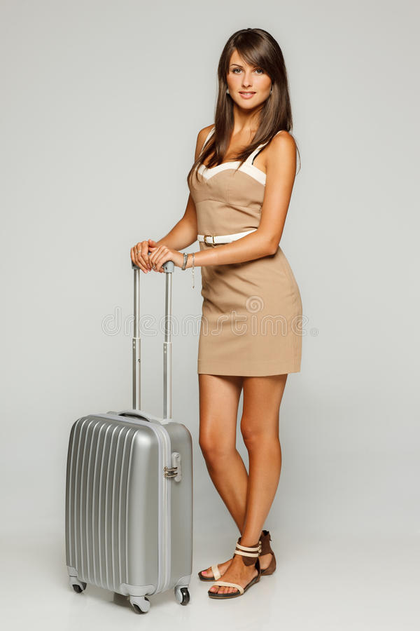 Download Woman Going To Business Trip Stock Image - Image: 25689469
