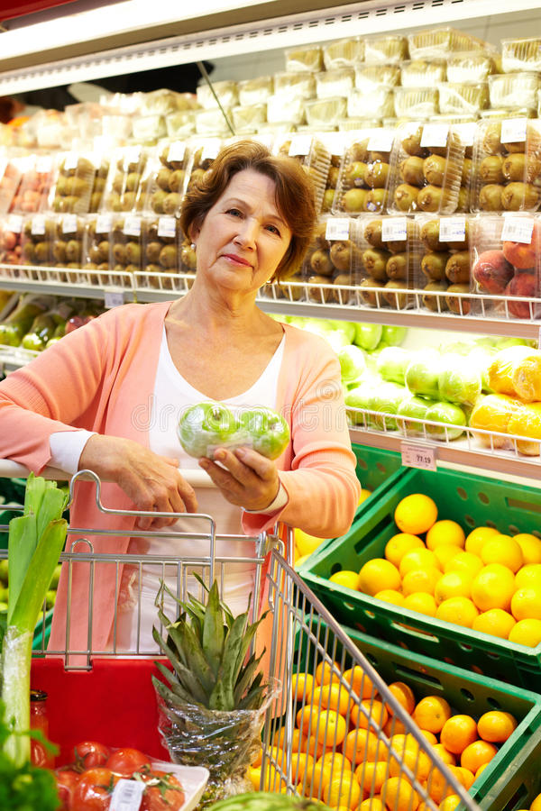 Download Woman With Goods Royalty Free Stock Image - Image: 24308866