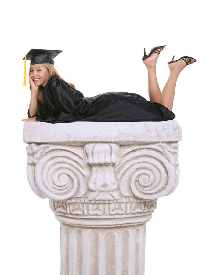 Woman Graduate stock images
