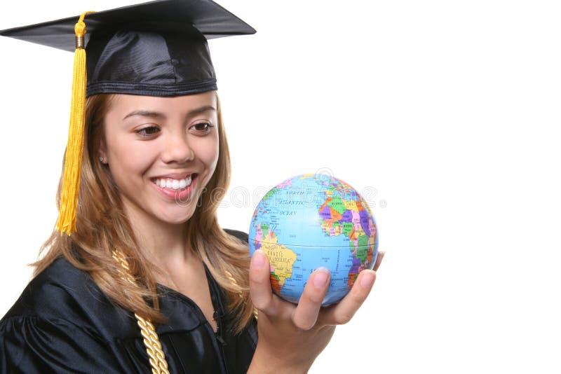 Woman Graduate stock photography