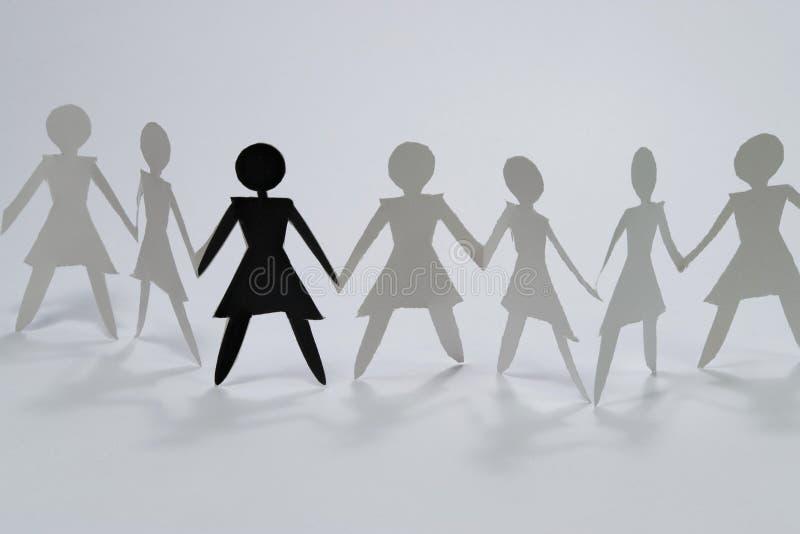 Download Woman group I stock illustration. Illustration of partners - 4639487
