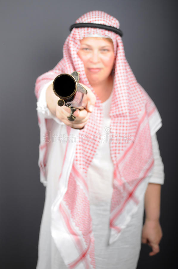 Download Woman With Gun Stock Photo - Image: 28554160
